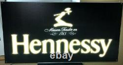 Hennessy Double Faced Led Bar Signe Cognac Liquor