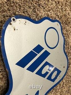 Ilco Key Sign Double Sided Metal Grand Figural Quincaillerie Boutique Publicité 32