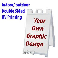 Impression Personnalisée Un Cadre Signicade Double Sided Indoor Outdoor Business Road Sign