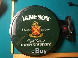 Jameson Irish Whiskey Panneau Lumineux Double Face Pour Mur De Signe Bar Man Cave Pub