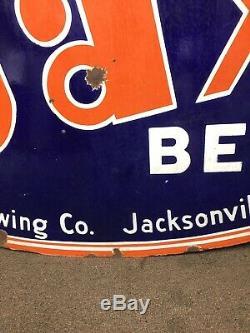 Jax Beer Double Face Signes En Porcelaine! Varier Rare