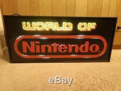 Le Monde Double De Signe De La Fibre Optique Nintendo M36a