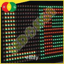 Led Signe 3col-rgy / Ir / 2f 19x52 Programmable Affichage Scrolling Readerboard Connexion