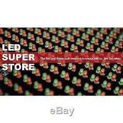 Led Super Magasin 3c / Rgy / Ir / 2f 19x69 Programmable De Défilement. Affichage Des Messages Connexion