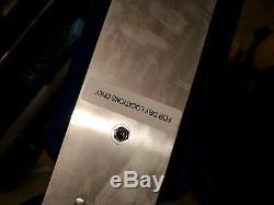New Lighted Concessionnaire Connexion Goodyear 12 X 36 Argent Cadre Double Face Suspendu Signe