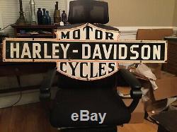 Old Harley Double Face Porcelain Signe 50