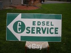 Original Edsel Ford Signe De Service Double Grange Trouver