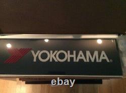 Original Yokohama Tire Led Double Sided Lighted Sign