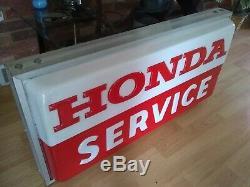 Panneau Lumineux Double Face Indiquant Le Service Honda