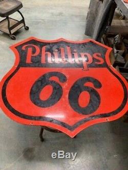 Phillips 66 30 Porcelaine Double Face