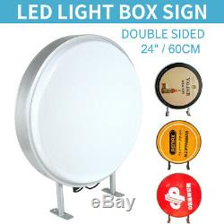 Planche 24 Led Ronde Circulaire Projeter Double Face Vierge Signe Lumineux