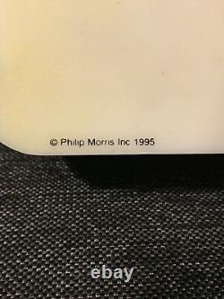 Rare Marlboro Electric Fluorescent Light Sign Double Sided 28x12 À Partir De 1995