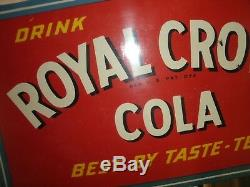 Royal Crown Cola Bride Bilaterale Signe Porcelaine Soda