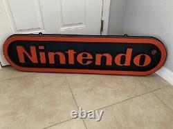 Signe Double Sided De Magasin De Magasin De Forme De Vide De Nintendo M17a