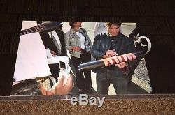 Tom Cruise Rare Signé La Guerre Des Mondes Original Double Sided Poster