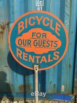 Vélos Vintage Location Pour Nos Clients Connexion Curb Lollipop Double Face Plage