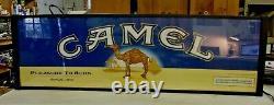 Vintage Cigarette Double Sided Lighted Sign Salem Et Camel Big 49 X 15 Vente