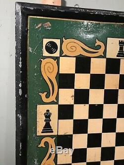 Vintage English Irish Pub Tavern Signe Double Face En Bois Peint Les Dames