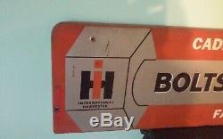 Vintage Ih International Harvester Boulons Écrous-rondelles-pins Double Face Connexion
