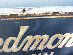 Vintage Large Piémont Special 10 Cent Beer Double Sided Metal Sign 72 X 36 In