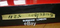 Vintage London Transport Demande D'un Émail À Double Face Des Années 1960, Signal D'arrêt De Bus