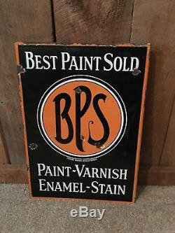 Vintage Meilleur Peinture Vendu Bps Varnish Stain Porcelain Bride Double Face Signe