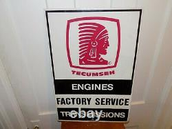 Vintage Tecumseh Engines Factory Service Transmissions Double Sided Flange Signe